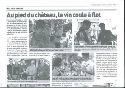 Vaucluse agricole - 080808 - fêtes des vins du Luberon