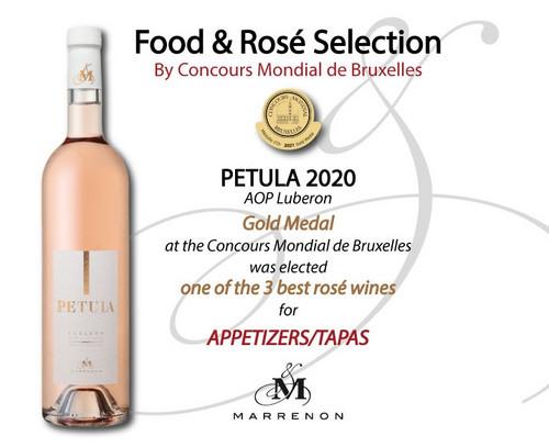 Food & Rosé Selection by Concours Mondial des Vins de Bruxelles