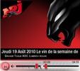 Radio NRJ Quebec vin de la semaine La Grande Toque