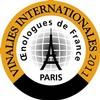 Vinalies Internationales médaille d'argent Vignoble de Lourmarin