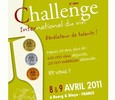 Challenge International du Vin 2011 médaille d'or Grande Toque Luberon rosé