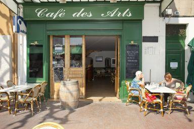 restaurant aubagne le caf des arts vins du luberon et